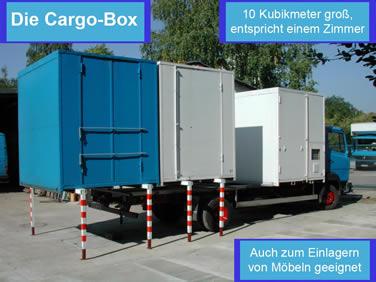 Das Cargo Box Prinzip Cargoboxtransporter